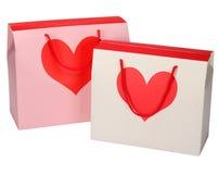 Geschenktaschenkasten lizenzfreies stockbild