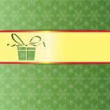 Geschenkverpackung für das neue Jahr Lizenzfreies Stockbild