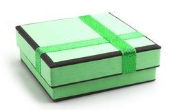Geschenkverpackung mit Farbband Lizenzfreie Stockfotografie