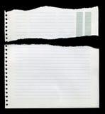 Gescheurd document royalty-vrije stock afbeeldingen