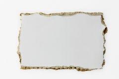 Gescheurd Document (met Weg) Royalty-vrije Stock Afbeelding