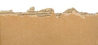 Gescheurd karton royalty-vrije stock afbeelding