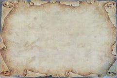 Gescheurd oud document met geelachtige kleuren vector illustratie