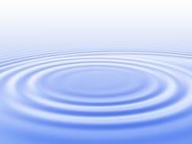 Gescheurd water stock illustratie