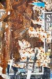 Gescheurde Affiches Royalty-vrije Stock Afbeelding