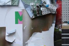 Gescheurde Affiches Royalty-vrije Stock Foto's