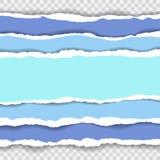 Gescheurde document achtergrond met ruimte voor tekst De het malplaatjevector van de ontwerpillustratie voor banner van Web-pagin Royalty-vrije Stock Foto's