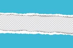 Gescheurde document achtergrond met ruimte voor tekst De het malplaatjevector van de ontwerpillustratie voor banner van Web-pagin Stock Afbeelding