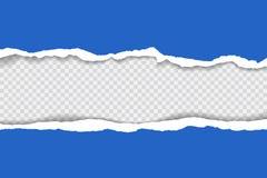 Gescheurde document achtergrond met ruimte voor tekst De het malplaatjevector van de ontwerpillustratie voor banner van Web-pagin Stock Fotografie