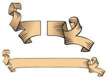 Gescheurde rol stock illustratie