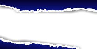 Gescheurde vector of gescheurd document. Achtergrond. royalty-vrije illustratie