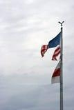 Gescheurde Vlag Royalty-vrije Stock Fotografie