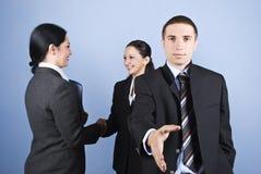 Geschäft, das Hände rüttelt Lizenzfreies Stockfoto