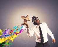 Geschäft in der Aktion Lizenzfreie Stockfotos