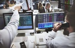 Geschäft Team Investment Entrepreneur Trading Concept Lizenzfreies Stockfoto