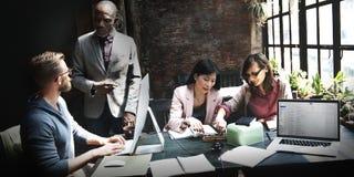 Geschäft Team Meeting Discussion Ideas Concept Stockfotos