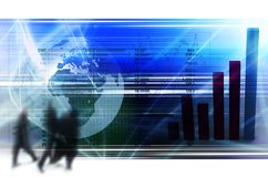 Geschäft u. Finanzierung Lizenzfreie Stockfotografie