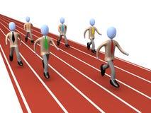 Geschäfts-Konkurrenz Stockfoto