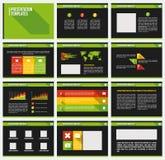 Geschäfts-Schablonenbroschüre Lizenzfreie Stockbilder