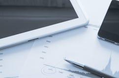 Geschäfts-Schreibtisch Lizenzfreies Stockbild