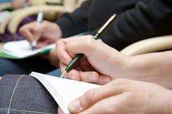 Geschäfts-Seminar Lizenzfreie Stockbilder