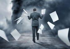 Geschäfts-Sturm Lizenzfreies Stockfoto