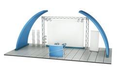 Geschäftsausstellung-Standplatz Lizenzfreies Stockfoto