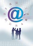Geschäftsborduhr Lizenzfreies Stockbild