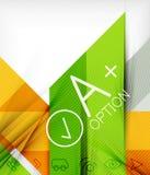 Geschäftsdarstellung streift abstrakten Hintergrund Lizenzfreies Stockfoto