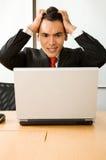 Geschäftsdruck Online Stockbild