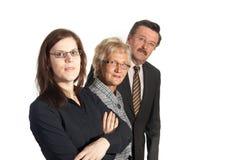 Geschäftsfamilie Stockfotos