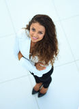Geschäftsfrau - 2 Beschneidungspfad eingeschlossen Lizenzfreie Stockbilder