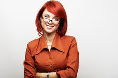 Geschäftsfrau-Portrait Stockfoto