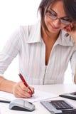 Geschäftsfraufunktion Lizenzfreie Stockfotografie
