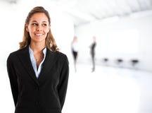 Geschäftsfrauporträt Stockfoto