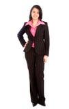 Geschäftsfraustellung Lizenzfreie Stockfotografie