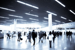 Geschäftshintergrund der U-Bahnstation Stockfoto