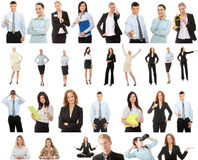 Geschäftsleute Ansammlung Lizenzfreie Stockbilder