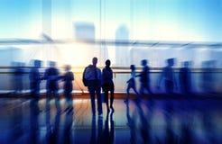 Geschäftsleute der Zusammenarbeits-Team Teamwork Peofessional Concept Lizenzfreies Stockfoto