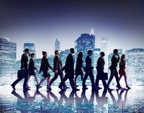 Geschäftsleute der Zusammenarbeits-Team Teamwork Professional Concept Lizenzfreie Stockbilder