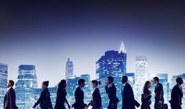 Geschäftsleute der Zusammenarbeits-Team Teamwork Professional Concept Lizenzfreie Stockfotografie