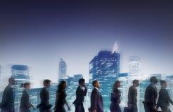 Geschäftsleute der Zusammenarbeits-Team Teamwork Professional Concept Stockfotos
