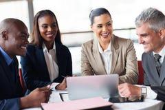 Geschäftsleute Treffen Lizenzfreie Stockbilder