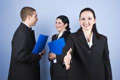 Geschäftsleute Verhältnisse Lizenzfreie Stockbilder