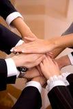 Geschäftslokal-Team-Arbeit Stockfoto