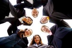 Geschäftslokal-Team-Arbeit Lizenzfreie Stockfotos