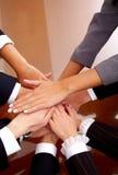 Geschäftslokal-Team-Arbeit Lizenzfreie Stockbilder