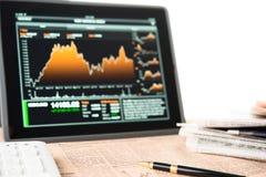 Geschäftsmannarbeitsplatz Lizenzfreies Stockfoto