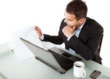 Geschäftsmannfunktion Lizenzfreie Stockfotos