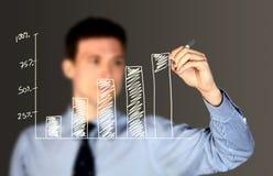 Geschäftsmannschreiben Lizenzfreie Stockfotos